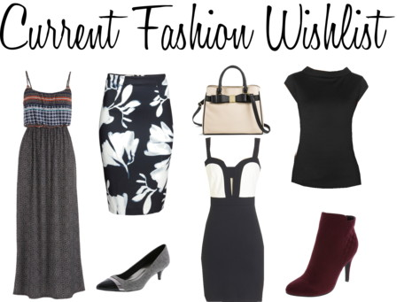 Current Fashion Wishlist